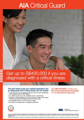 Get up to S$400,000 if you're diagnosed with a critical illness
