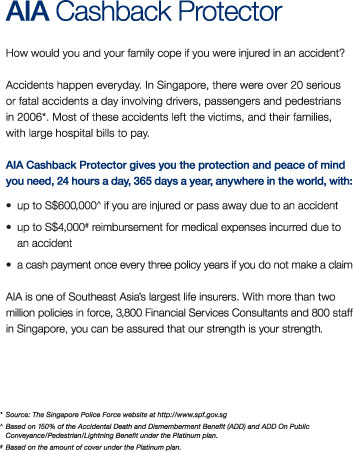 How would you and your family cope if you were injured in an accident?