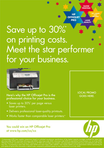 Save up to 20% on printing costs