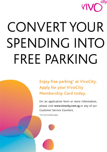 Convert your spending into free parking